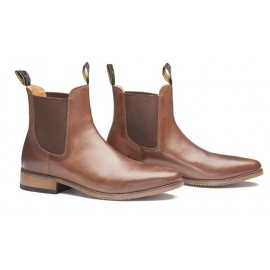 Boots cuir marron Mountain Horse